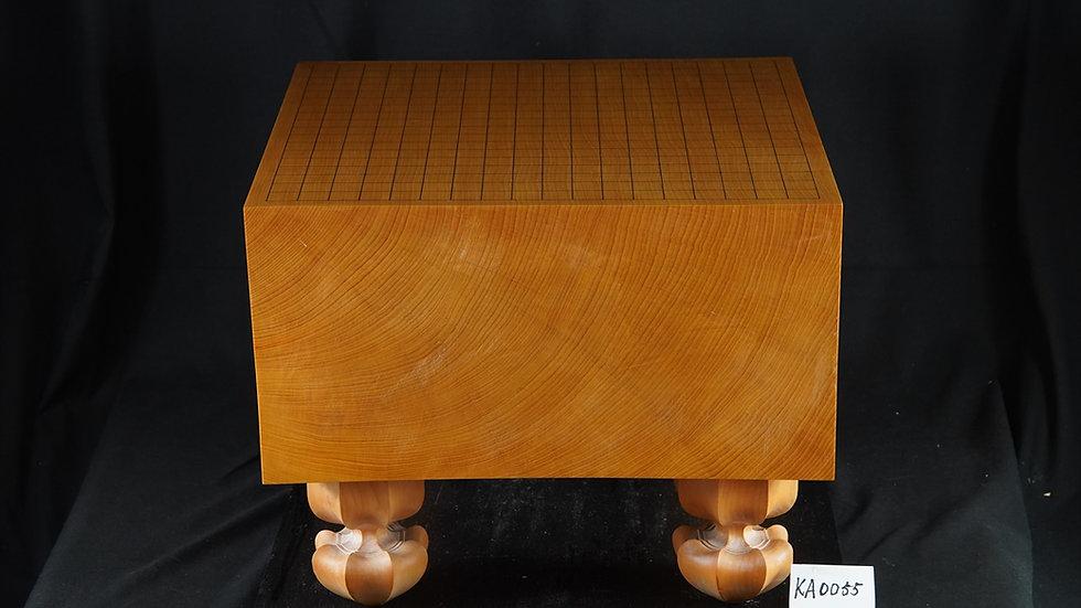 【KA0055】九州山地本榧 柾目 脚付碁盤
