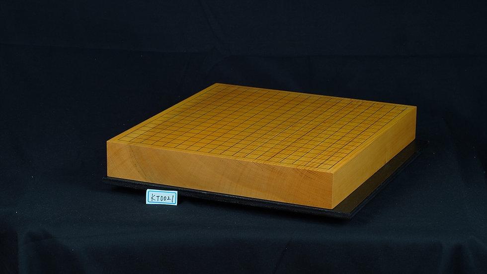 本榧 柾目 一枚盤 卓上碁盤