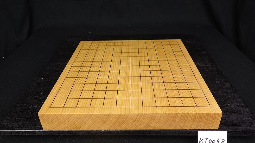 【KT0058】日向産本榧 天地柾 一枚盤 13路盤