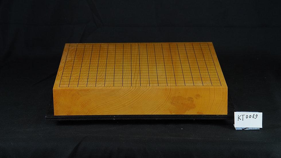【KT0053】九州山地本榧柾目  一枚盤 卓上碁盤
