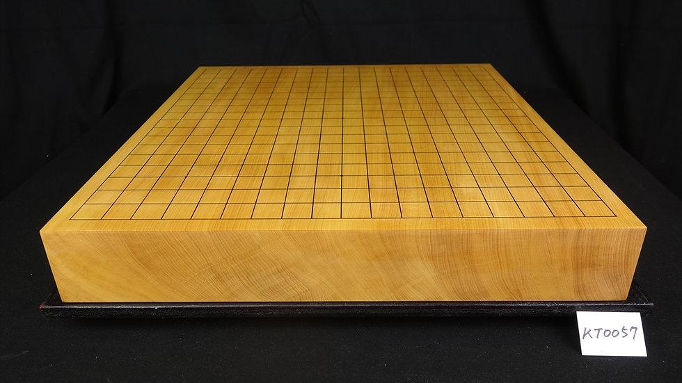 【KT0057】日向産本榧 天地柾  一枚盤 卓上碁盤