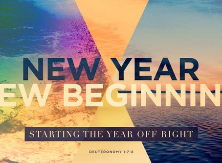 New Year New Beginning