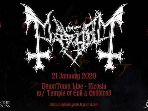 Mayhem live