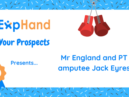 ExpHand Your Prospects: Model and PT amputee Jack Eyres