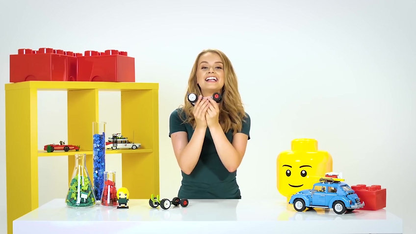 Samantha Dorrance - Children's TV Presenter for companies such as Disney Channel, Cbeebies, Nickelodeon and LEGO.