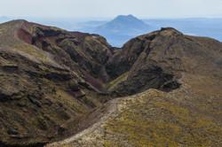 Mount Tarawera and Mount Edgecumbe