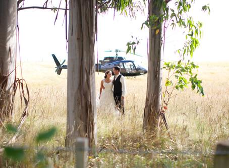 EVER CONSIDERED A HELI-WEDDING?