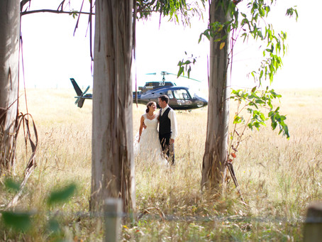 EVER CONSIDERED A HELI-WEDDING?