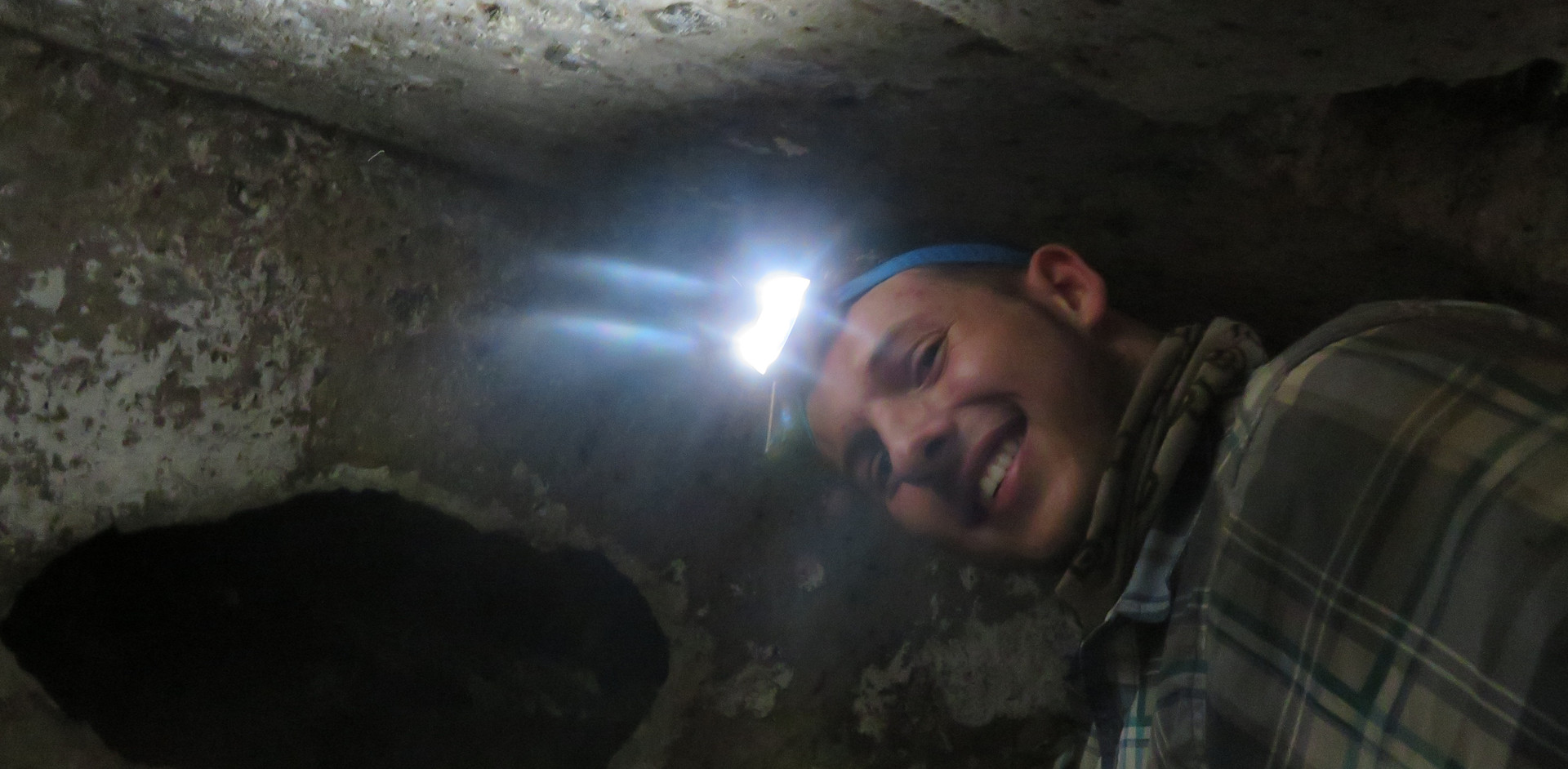 exploring looted tombs