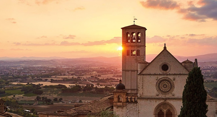 St. Francis church, Assisi