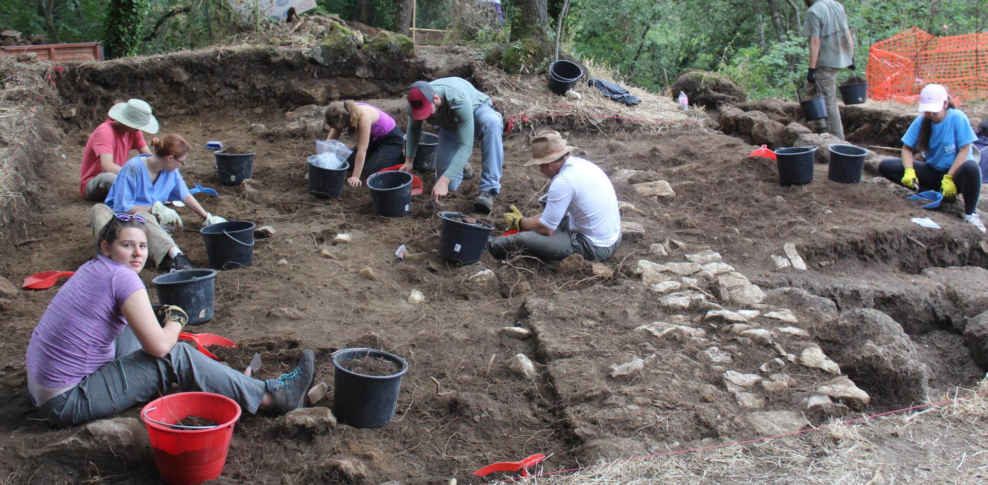castle excavation 2018
