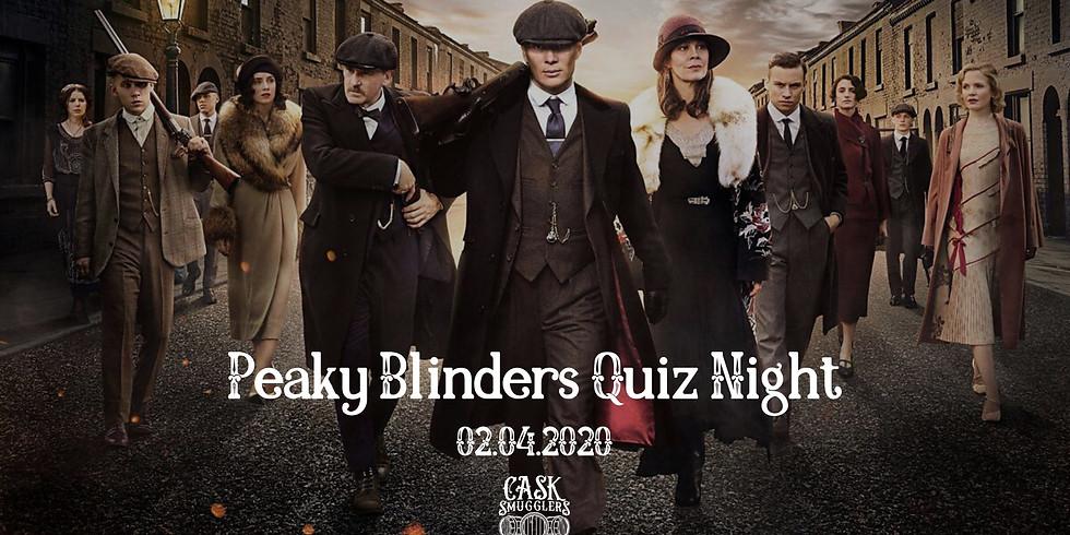 Peaky Blinders - Quiz Night