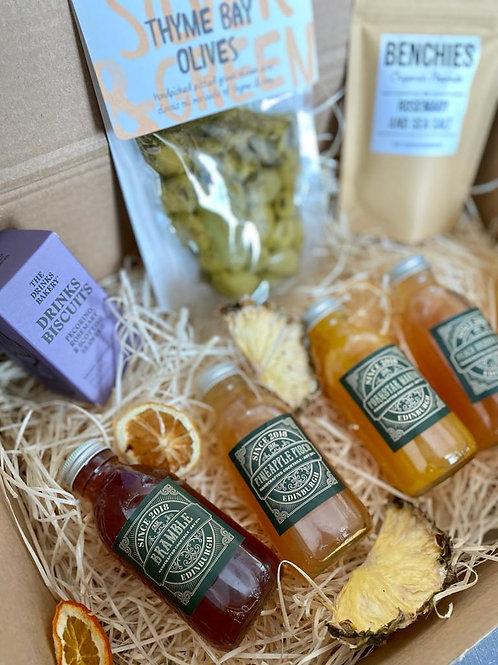 Savoury Scottish Snacks & Cocktails Box