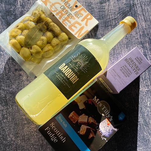 Cocktails & Scottish Snacks Bundle