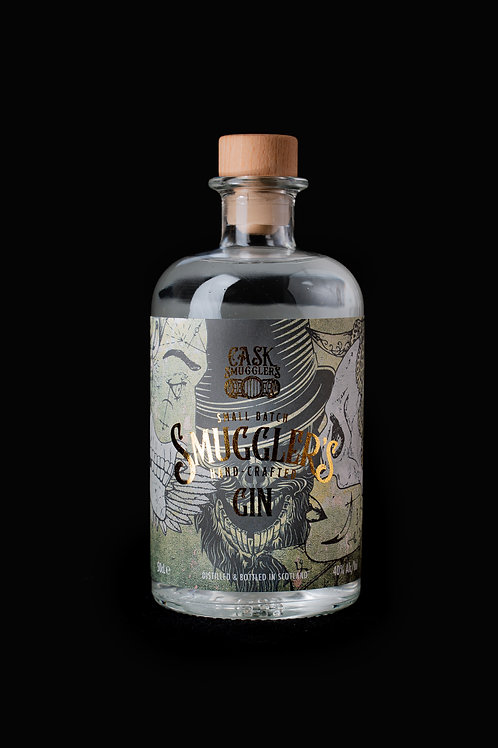 Smuggler's Gin and Franklins Mixer Pack