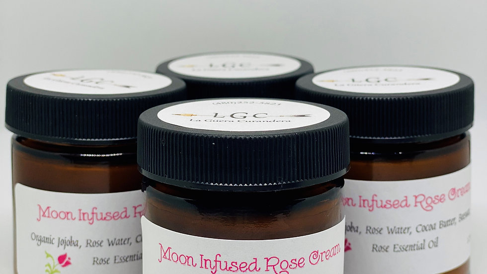 Moon Infused Rose Cream/Lotion
