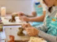 沖縄陶器シーサー作り