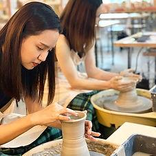 やちむん作りを体験♫_小皿からカップ、お茶にお皿_あなただけの器が作れますよ❤️
