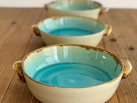 『Al mare アルマーレ』43 Pottery ココット風ボウル18cm