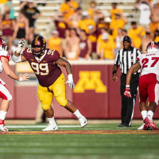 Defensive tackle O.J. Smith brings a unique perspective to the Gophers