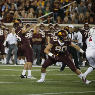"The Gophers' special teams units are led by the ""how guys"""