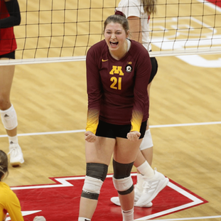 Gophers' Regan Pittman fills life's 'water bucket' by influencing others