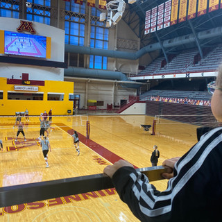 Distance is no match for Gopher Volleyball's favorite teammate
