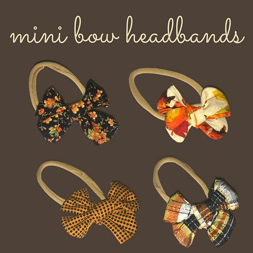 Fall in New England Headbands