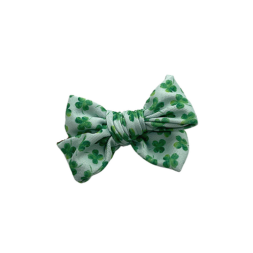 Small St. Patty's Bow Clips