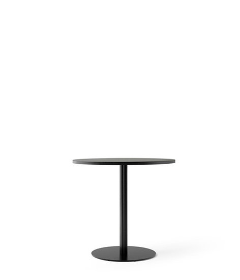 MENU Harbour Column Dining Table Black Oak