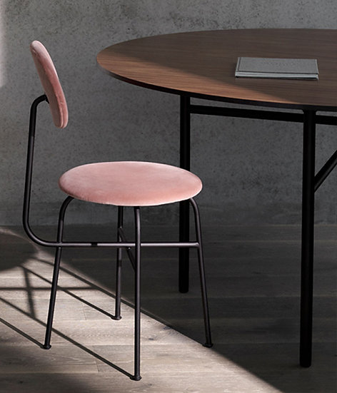 Set of 2 - MENU Afteroom Plus Chairs - Dusty Rose
