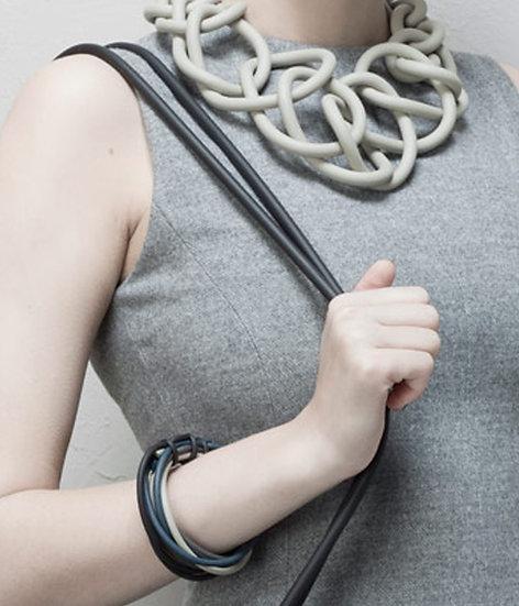 Link Hand Knitted Neoprene Neckpiece