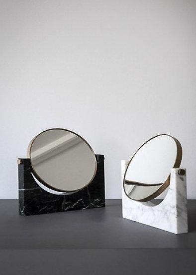 Pepe Marble Mirror Black/White
