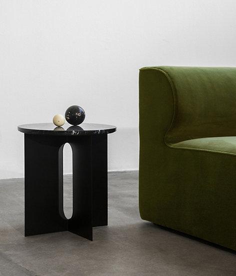 MENU Androgyne Side Table Black / Ivory