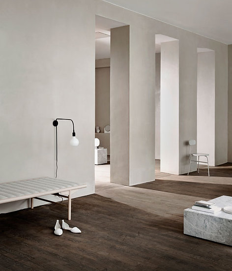 Plinth Low - White Marble