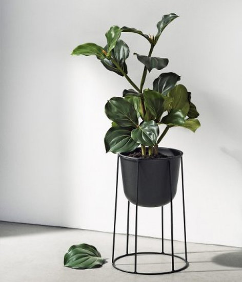 Wire Pot - Black