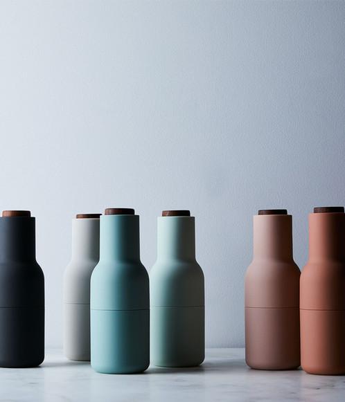 menu bottle grinders. Black Bedroom Furniture Sets. Home Design Ideas