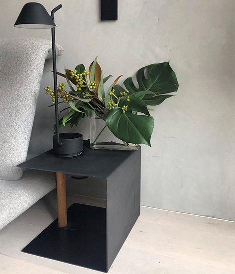 LIND DNA Side Table Container Anthracite