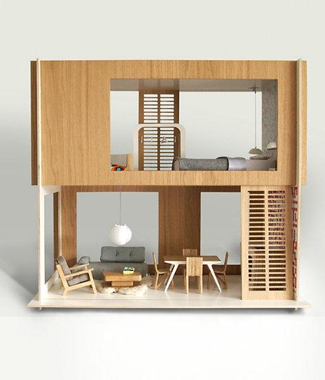Minnio Two Storey Doll House
