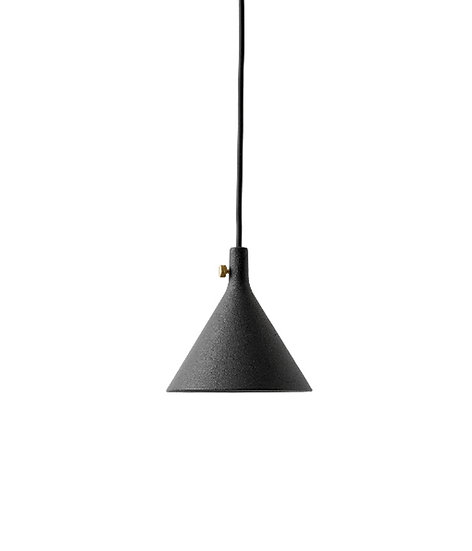Cast Pendant Shape 1 Black / Aluminium