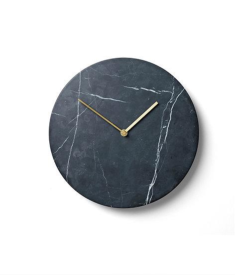 Black Marble Wall Clock by MENU
