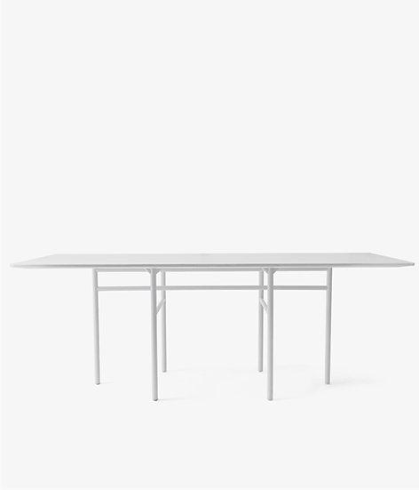 Snaregade Dining Table - Rectangle Light Grey
