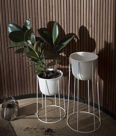 Wire Pot - White