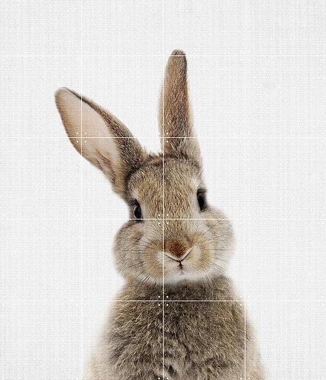 IXXI - Lila and Lola Double Sided Wall Art - Rabbit