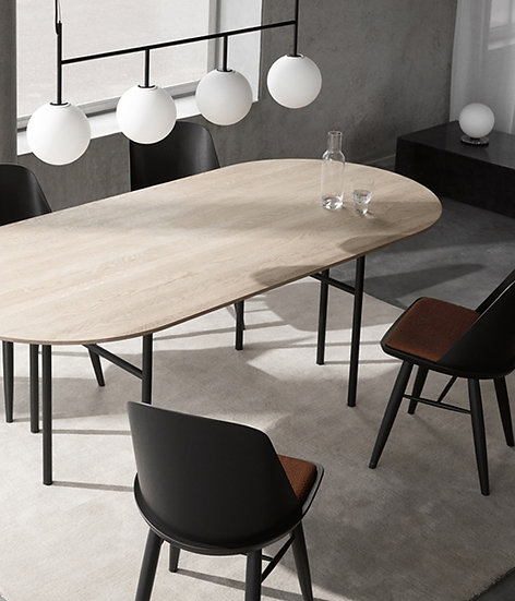 Snaregade Dining Table - Oval Oak Top