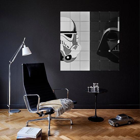 Stormtrooper / Darth Vader Wall Art
