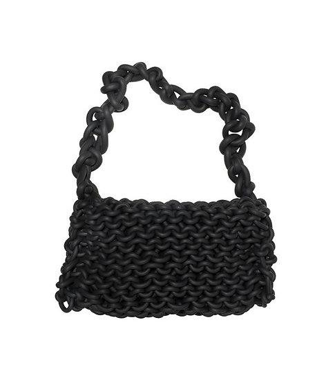 Hand Knitted Neoprene Handbag