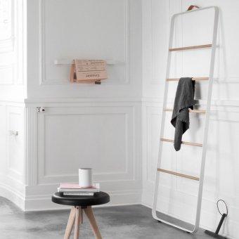 MENU Towel Ladder White / Light Oak