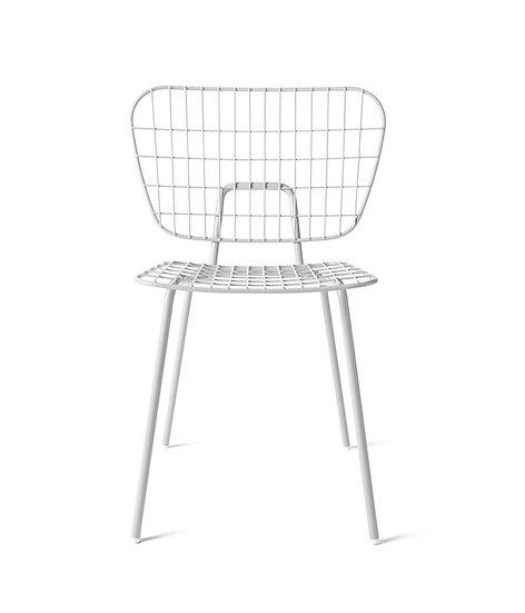 MENU WM String Dining Chair White (Set of 2)