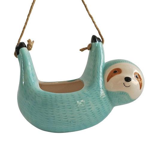 Hanging Sloth Planter
